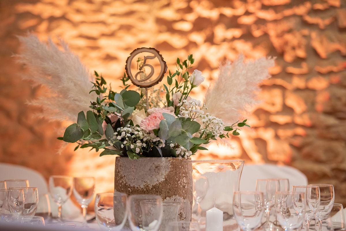 Composition florale - Centre de table